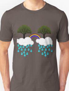 rainbow tree Unisex T-Shirt