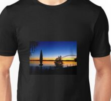 Sunset over Lake Constance Unisex T-Shirt