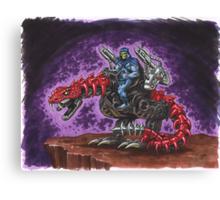 The Death-Rattler Canvas Print