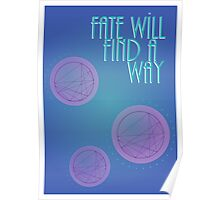 Fate Will Find a Way Poster