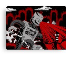 Robot Attack! Canvas Print