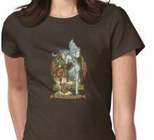 Hey! Listen! Womens Fitted T-Shirt