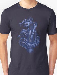 MEDUSA SKELETON (BLUE) T-Shirt