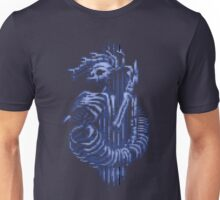 MEDUSA SKELETON (BLUE) Unisex T-Shirt