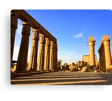 Temple of Luxor, Egypt Canvas Print