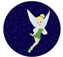 Tinkerbell Starry Sky. by EloisaRelish