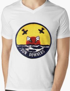 VF-111 Sundowners Mens V-Neck T-Shirt