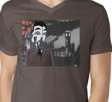 ?dIdyOUmissme? Mens V-Neck T-Shirt