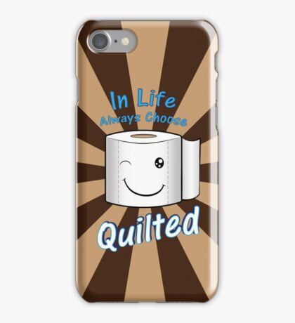 Quilted for Life iPhone Case/Skin