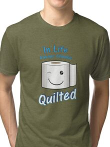 Quilted for Life Tri-blend T-Shirt