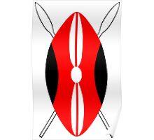 Shield of Maasai Poster