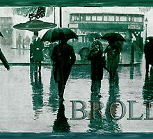 Brolly Brains. by Andrew Nawroski