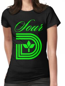 Sour D Green Apple Womens Fitted T-Shirt