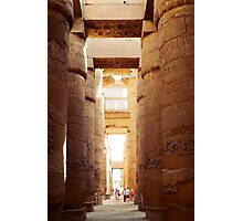 Great Hypostyle Hall, Karnak Temple Photographic Print