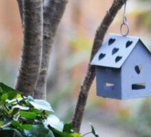 Bird House Sticker