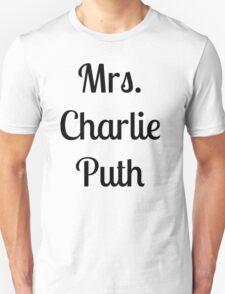 Mrs. Charlie Puth T-Shirt