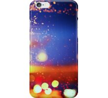 Raindrops on the Car Window iPhone Case/Skin