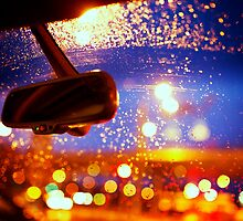 Raindrops on the Car Window by VaidaAbdul