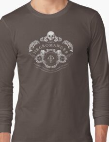 Necromancer Emblem: Ashes to ashes, dust to dust Long Sleeve T-Shirt