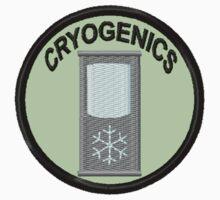 Cryogenics Geek Merit Badge by storiedthreads