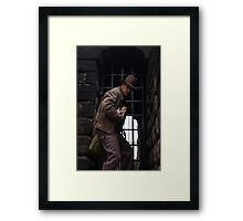 Dr Jones I presume Framed Print