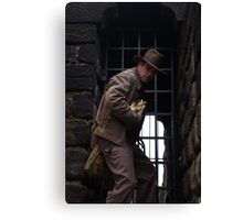 Dr Jones I presume Canvas Print