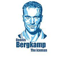 Dennis Bergkamp  Photographic Print