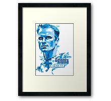 Dennis Bergkamp 2 Framed Print