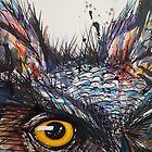 'Owl Insanity' 2014 by Kim Lintern