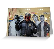 The New 1D line is revealed Greeting Card