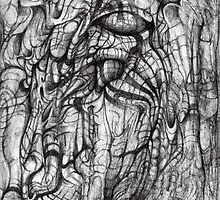 Extended Portrait [Tree Spirit.] by Andy Nawroski