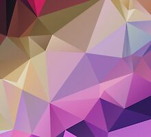 Purple Gradient Polygon by NeoIno