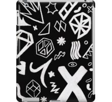 On The Road Again Tour stage pattern iPad Case/Skin