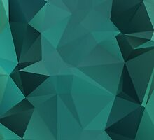 Turquoise Polygon by NeoIno