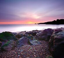 Bouley Bay Sunrise by Mark Bowden