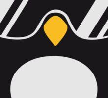 Penguin with headphones Sticker