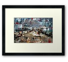 In the summer of 2013 Framed Print