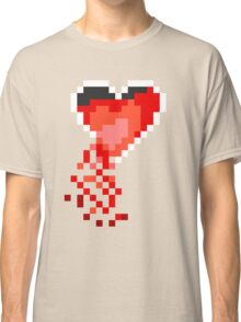 broken heart container (wht) Classic T-Shirt