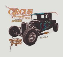 Circus Gowana Bros Rat Rod T-Shirt by ChasSinklier