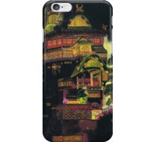 Spirited Away - Bath House at Night iPhone Case/Skin