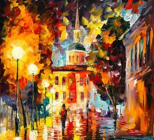 DECLARATION OF LOVE by Leonid  Afremov