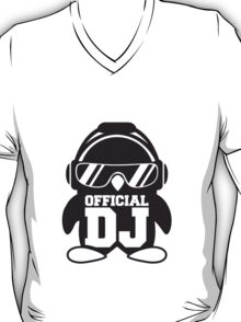 Official DJ Penguin headphones T-Shirt