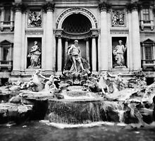 Trevi Fountain  by marcomartinelli