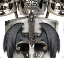 King and Lieutenants - Metal Heads, Bikers and Warriors Sticker