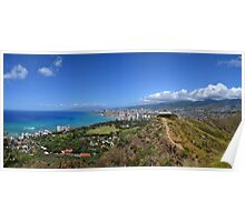 Lookout to Honolulu Poster