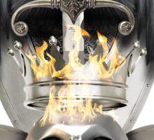 Metal Heads, Bikers and War - King and Lieutenants Sticker