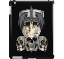 Metal Heads, Bikers and War - King and Lieutenants iPad Case/Skin