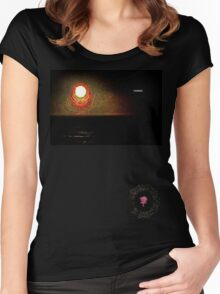 (((Ohr))) Sunset Women's Fitted Scoop T-Shirt