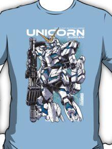 Unicorn Gundam T-Shirt T-Shirt