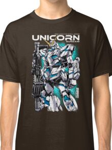 Unicorn Gundam T-Shirt Classic T-Shirt